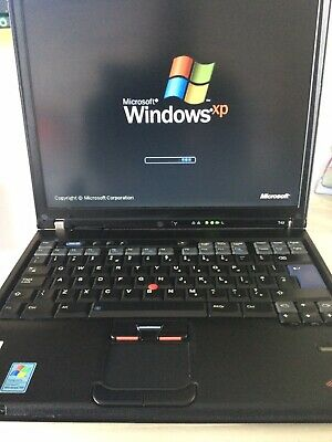 IBM Thinkpad T43 Laptop With Parallel Port 2gb Ram Windows Xp Office 100gb HDD • 269.99£