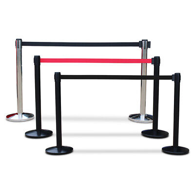 PREMIUM 3m Retractable Crowd Control Queue Barrier System Posts  • 30£