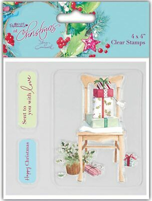 At Christmas By Lucy Cromwell - Clear Stamp Set 4x4 • 3.99£
