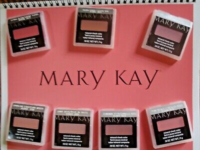 $24.99 • Buy Mary Kay Mineral Cheek Color ** STRAWBERRY CREAM** LOT OF 2 FRESH, + FREE BRUSH!