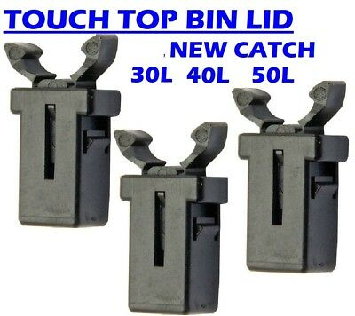 50l 30l Touch Release Bin Lid Catch Latch Push Zuny Curver Deco Addis Argos Lock • 2.87£