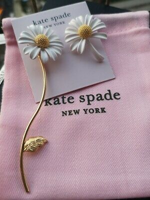 $ CDN42.07 • Buy Kate Spade New York  Into The Bloom Statement Daisy Earrings