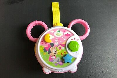 Disney Baby Cot Night Light Musical Projector Toy Minnie Mouse • 14.99£