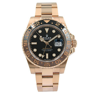 $ CDN52384.17 • Buy Rolex GMT-Master II 126715 Root Beer 18K Rose Gold Automatic Mens Watch