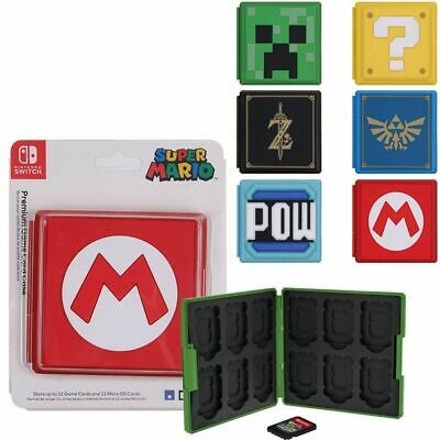 Portable Game Card Case Cover Storage Box Holder Organizer For Nintendo Switch • 5.99£