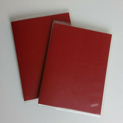 Photo Albums Small Red - Pack Of 2, Slip In, Holds 36 Pictures • 3£