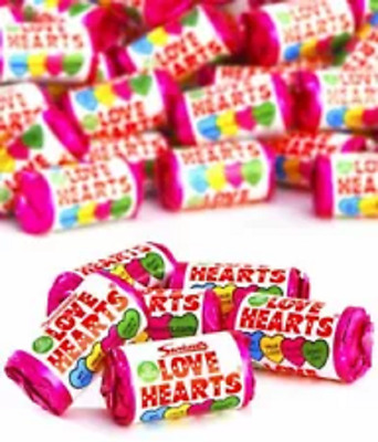 £4.29 • Buy Swizzels Mini Love Heart Sweets Wedding Favours Retro 30 Individual Packets