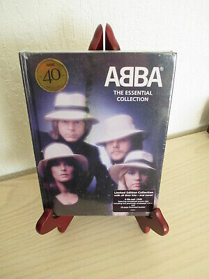 Abba - The Essential Collection 2 CD & 1 DVD  28 Page Booklet NEW & SEALED • 12£