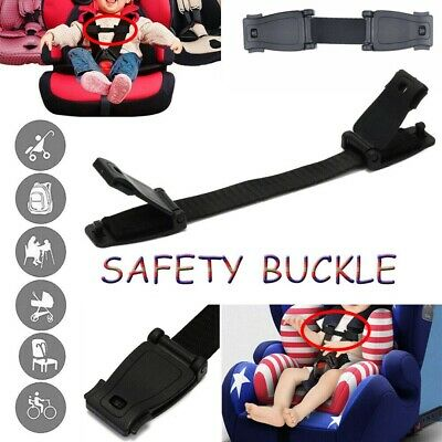 Car Baby Safety Seat Belt Buckle Chest Strap Clip Buggy Harness Lock Clip·uk • 5.19£