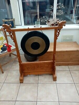 Large Chinese Brass Dinner Gong.  • 295£