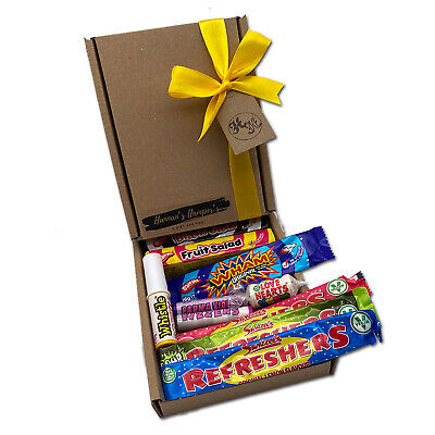 Personalised Old Fashioned Retro Sweet Mix Gift Box Hamper Candy Xmas Present • 4.99£