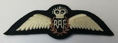 British Royal Air Force (R.A.F.) Officers Pilot Wings Brevet Wings (QC) ASPS253 • 9.99£