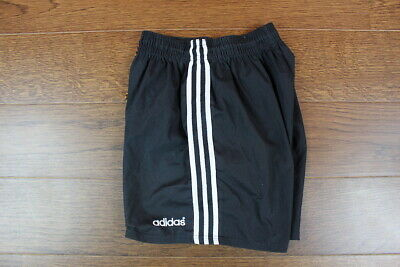 Rare Retro Black Shorts Adidas Germany 90' Oldschool Vintage Size (m) • 8£