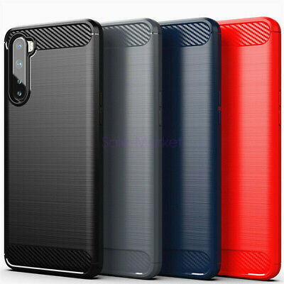 AU4.70 • Buy For OnePlus Nord 8/8 Pro 7T 7 6T 5T Shockproof Carbon Fiber Soft TPU Case Cover