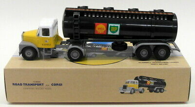 Corgi 1/50 Scale Model Truck 97840 - Scammell Highwayman Tanker - Shell Mex BP • 19.99£
