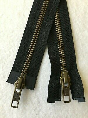 YKK Heavy Duty Metal Zips No.5 And No.8  -  Closed End, Open End And 2-Way O/End • 5£