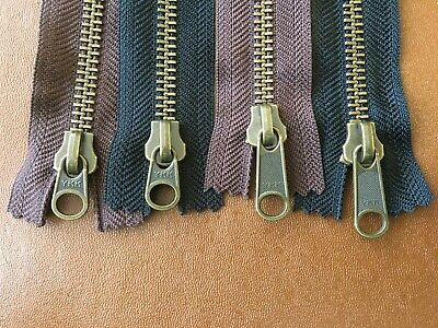 £2.50 • Buy YKK Heavy Duty Metal Zips Nos. 4, 5 & 8  -  Closed End, Open End And 2-Way O/End