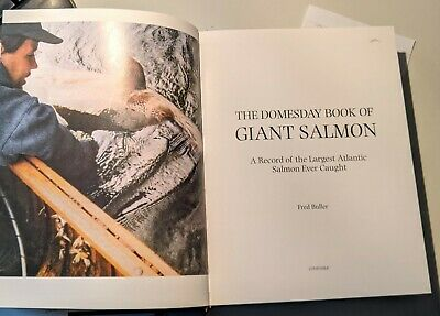 £52 • Buy The Doomsday Book Of Giant Salmon-Fred Buller Hardback 2008 Exc