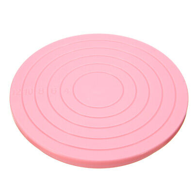 14cm Platform Revolving Decoration Rotating Cake Stand Baking Plates Turntables. • 5.35£