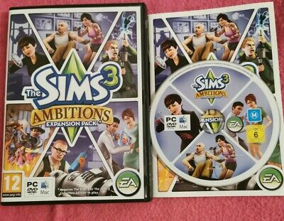 The Sims 3: Ambitions Expansion Pack (PC: Mac, 2010) L  NEW CONDITION AA0 • 6.99£