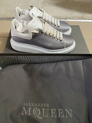 AU410 • Buy Alexander Mcqueen Larry Sneakers 37.5 With Box & Dustbag- Excellent Condition