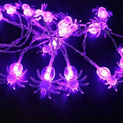 $ CDN16.42 • Buy Halloween Decorations String Ghost Lights Party Home Best Spiders Fairy I8R1