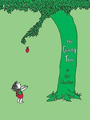 The Giving Tree, Shel Silverstein, Good Condition Book, ISBN 9780060256654 • 7.62£