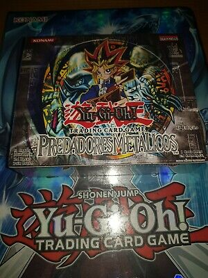 YuGiOh Metal Raiders 1st Edition Booster Box - Brand New & Sealed (Portuguese) • 350£