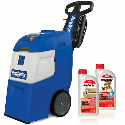 Rug Doctor Commercial Pro X3 Carpet Cleaner Vaccum Stain Pet Formula Oxy Power • 629.99£