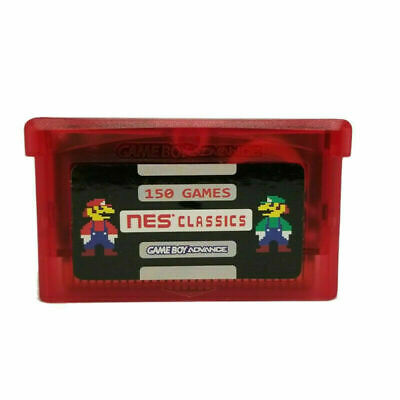 AU29.97 • Buy NES Classics 150 In 1 Games GBA Gameboy Advance SP Cart AUS SELLER FAST POST