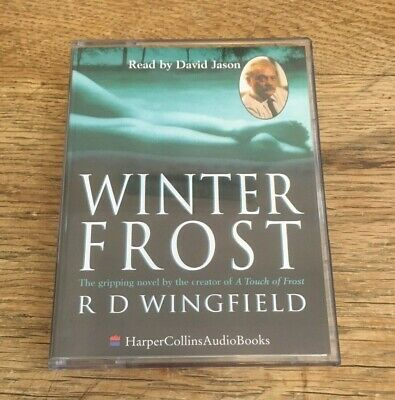 WINTER FROST By RD Wingfield Audio Book - 2 Cassette Tapes - Read By David Jason • 5.95£