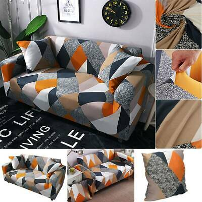 AU16.29 • Buy Sofa Covers 1/2/3/4 Seater Stretch Lounge Slipcover Protector Couch Washable AU