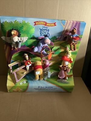 Mcdonalds Happy Meal Display With Toys Winnie The Pooh • 25£