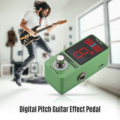 $ CDN36.52 • Buy Precision Tuner Pedal LED Display With True Bypass For Chromatic Guitar K2V0