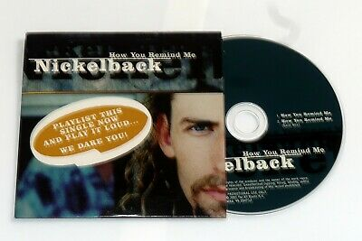 Nickelback. How You Remind Me. Promo CD Single. • 1.99£