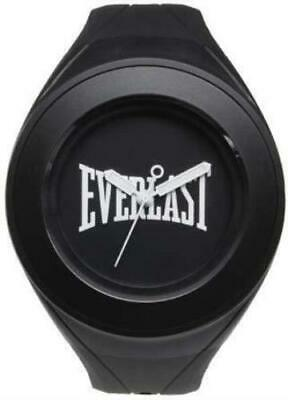 Everlast 33-209 Unisex Quartz Watch With Black Dial Analogue Display And Black P • 40£