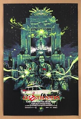 Sold Out Ghostbusters Screen Print By Vance Kelly - NT Mondo Poster - AP Edition • 139£