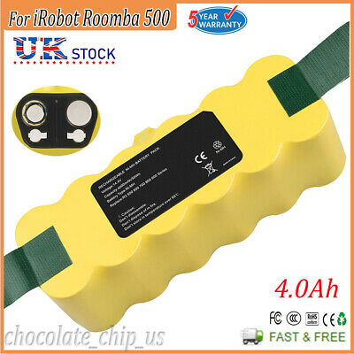 4.0Ah Nimh Battery For IRobot Roomba 500 510 530 531 532 533 535 536 540 600 610 • 16.99£