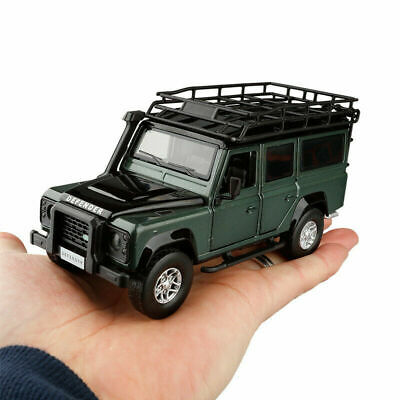 JKM 1:32 Land Rover Defender Diecast Car Model Toy Kids Xmas Gift Light&Sound • 15.99£