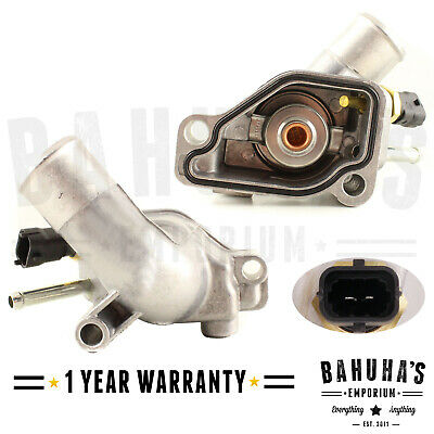 £13.50 • Buy Thermostat With Housing & Sensor For Vauxhall Corsa C 2000-onwards 1.0 1.2 1.4