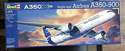Revell A350XWB Flight Test Airbus A350-900 Plastic Model Kit #03989 -1/144 • 34.30£