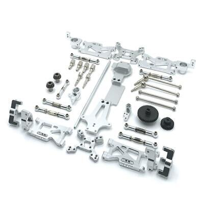 $ CDN74.58 • Buy Full Upgrade Metal Kit Spare Parts For WLtoys 144001 Gears Seat RC Car Accs
