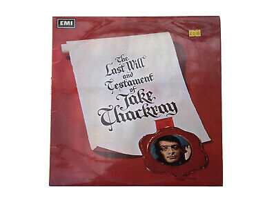 Jake Thackray The Last Will And Testament Of Jake Thackray Early Mono Pressing • 4.99£