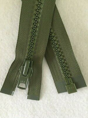 YKK VISLON Zips No.5 No.8 No.10 Open End Closed End 2Way And Open End Reversible • 3.25£
