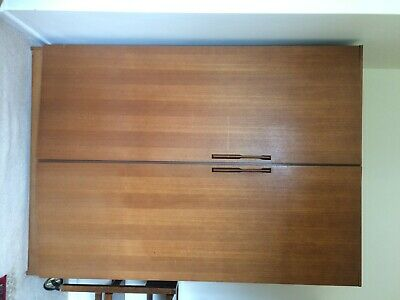 G Plan Style Wardrobe, Vintage, Retro Lovely Double Wardrobe • 20£
