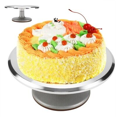 12  Cake Turntable Kitchen Rotation Decorating Revolving Display Stand Mould New • 19.89£