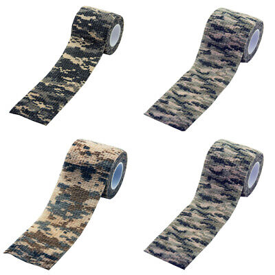 £2.79 • Buy 5m*5cm Wrap Rifle/Gun Hunting Camouflage Stealth Tape 4 Colors Wholesale