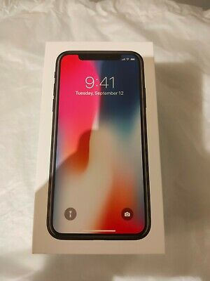AU510 • Buy Apple IPhone X 256GB Space Grey Perfect Condition Unlocked A1865 AU STOCK IN BOX