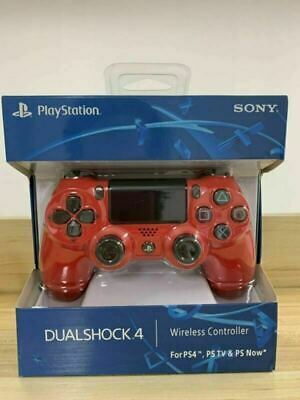 SONY PS4 Controller  PlayStation Games Console Red Game Pad DualShock Wireless • 25.99£