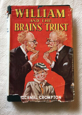 Richmal Crompton , William And The Brains Trust , First Edition , 1945 , DJ • 80£